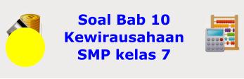 Soal Bab 10 Kewirausahaan dalam Membangun Ekonomi Indonesia